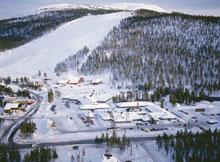 Рованиеми, Финляндия, горнолыжный курорт